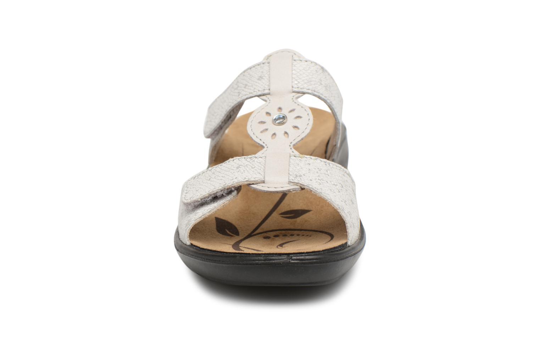 Mules et sabots Romika Ibiza 82 Gris vue portées chaussures