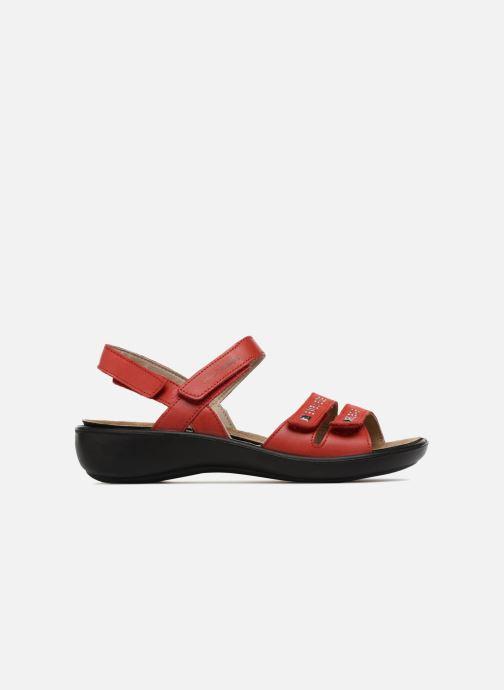 Sandales et nu-pieds Romika Ibiza 86 Rouge vue derrière