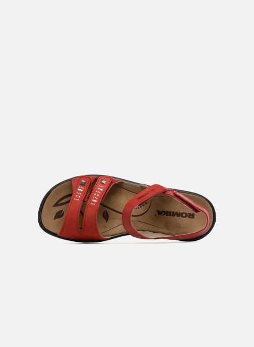 Sandales et nu-pieds Romika Ibiza 86 Rouge vue gauche
