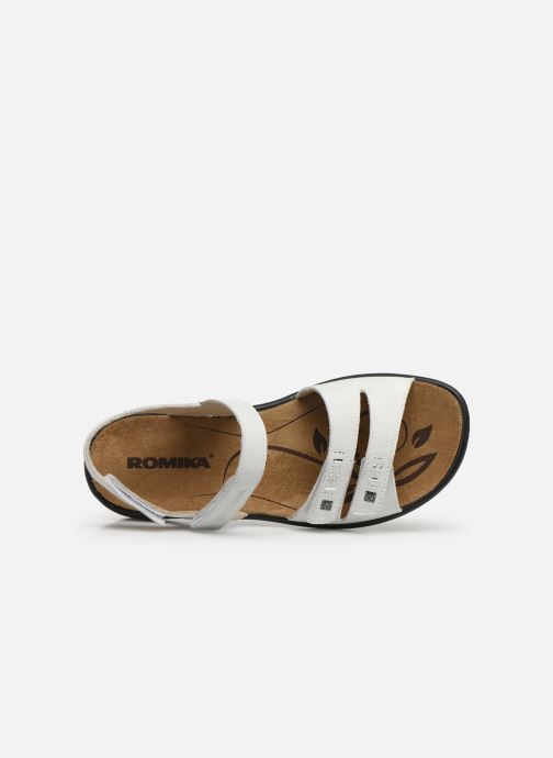 Romika Ibiza pieds White Et 86 Sandales Nu F1JclK