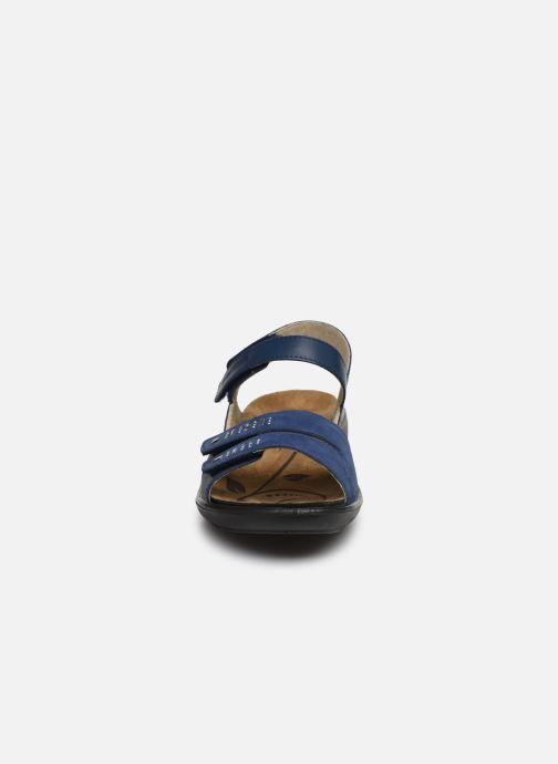 Sandales et nu-pieds Romika Ibiza 86 Bleu vue portées chaussures