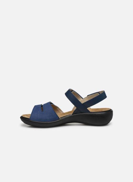 Sandales et nu-pieds Romika Ibiza 86 Bleu vue face