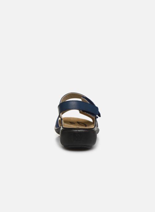 Sandales et nu-pieds Romika Ibiza 86 Bleu vue droite