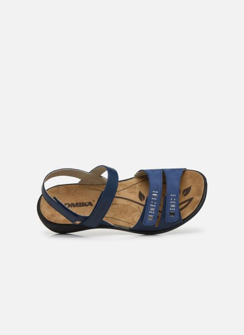 Sandales et nu-pieds Romika Ibiza 86 Bleu vue gauche