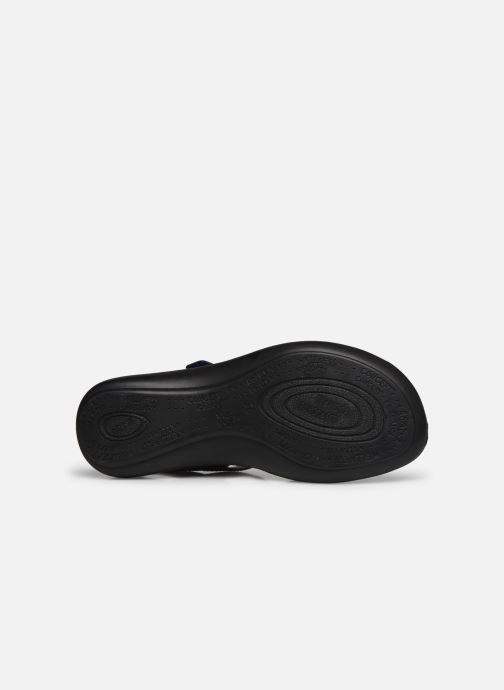 Sandales et nu-pieds Romika Ibiza 86 Bleu vue haut