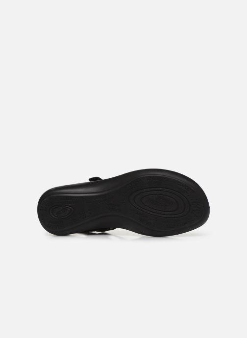 Sandales et nu-pieds Westland Ibiza 86 Noir vue haut