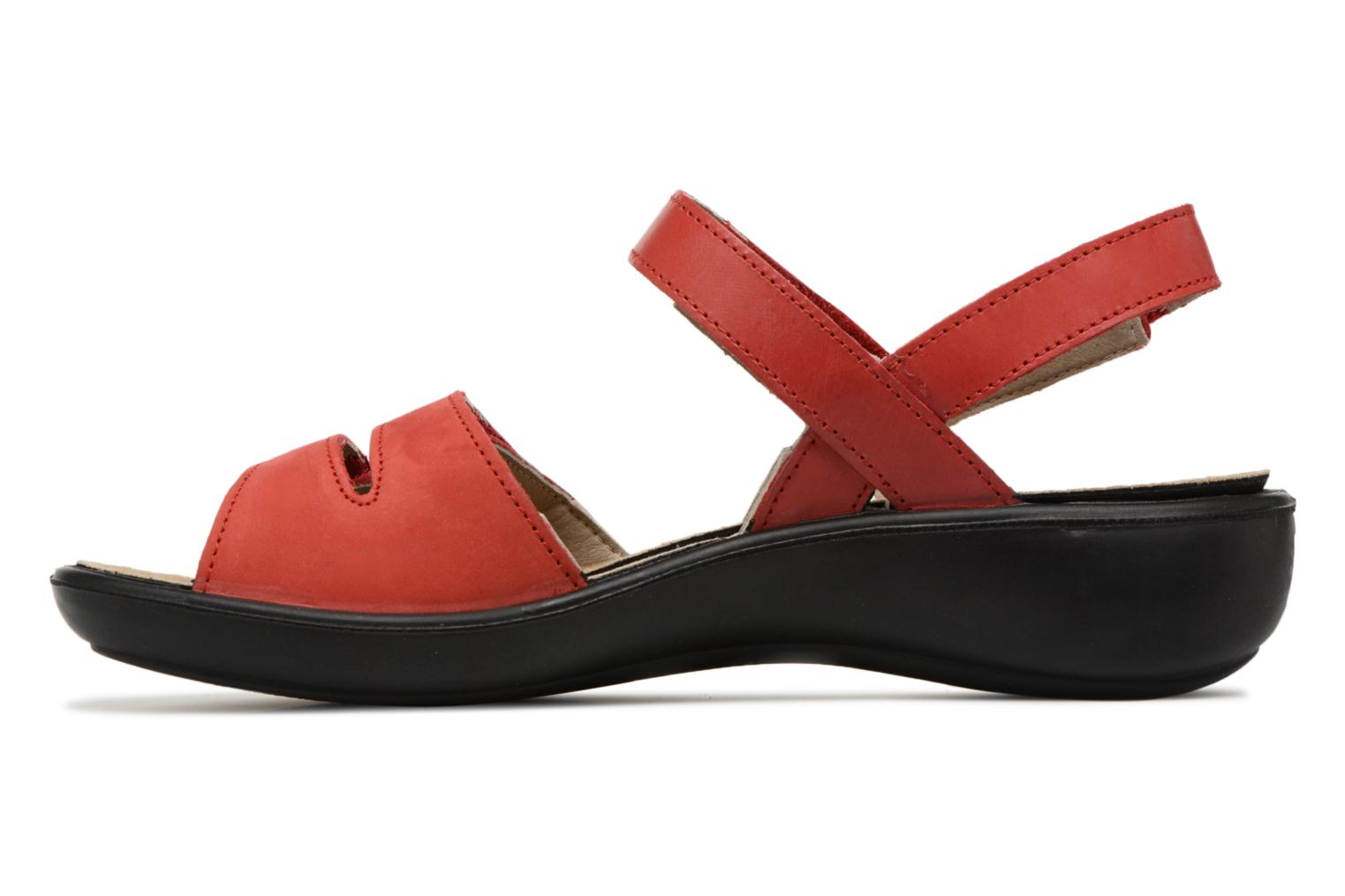 Sandals Romika Ibiza 86 Red front view