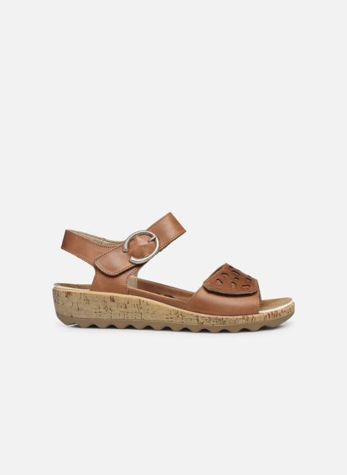Sandales et nu-pieds Romika Gina 02 Marron vue derrière
