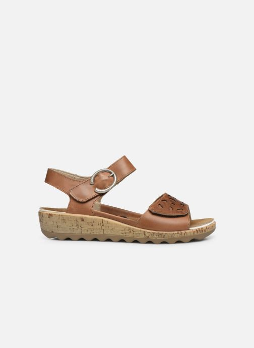 Sandales et nu-pieds Westland Gina 02 Marron vue derrière