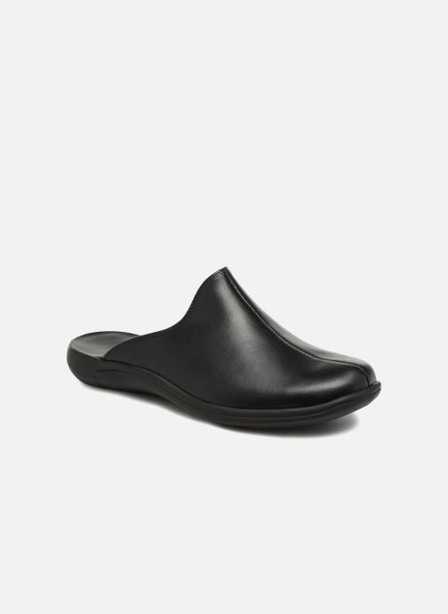 Slippers Romika Royal 02 Black detailed view/ Pair view