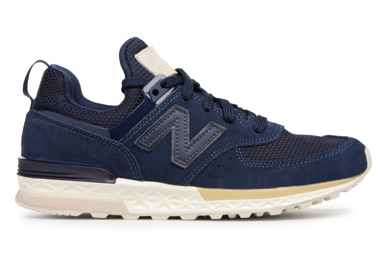 Sneakers New Balance KFL574 Blauw achterkant
