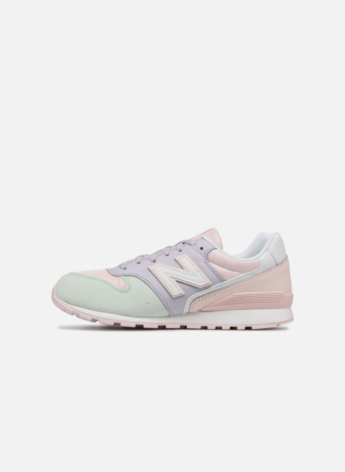 Trainers New Balance KJ996 J Pink front view