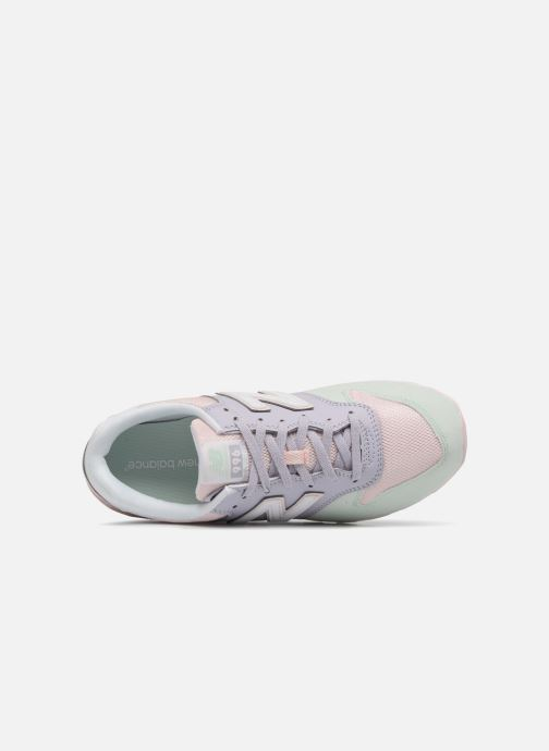 Trainers New Balance KJ996 J Pink view from the left