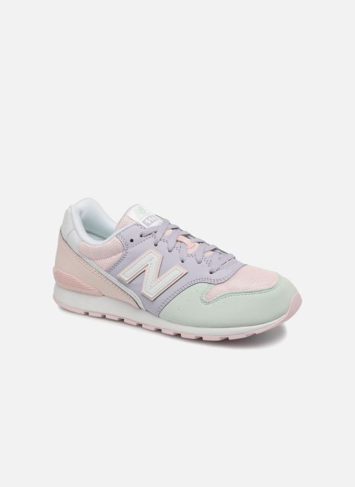 Trainers New Balance KJ996 J Pink detailed view/ Pair view