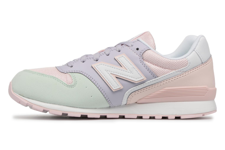 Sneakers New Balance KJ996 J Roze voorkant