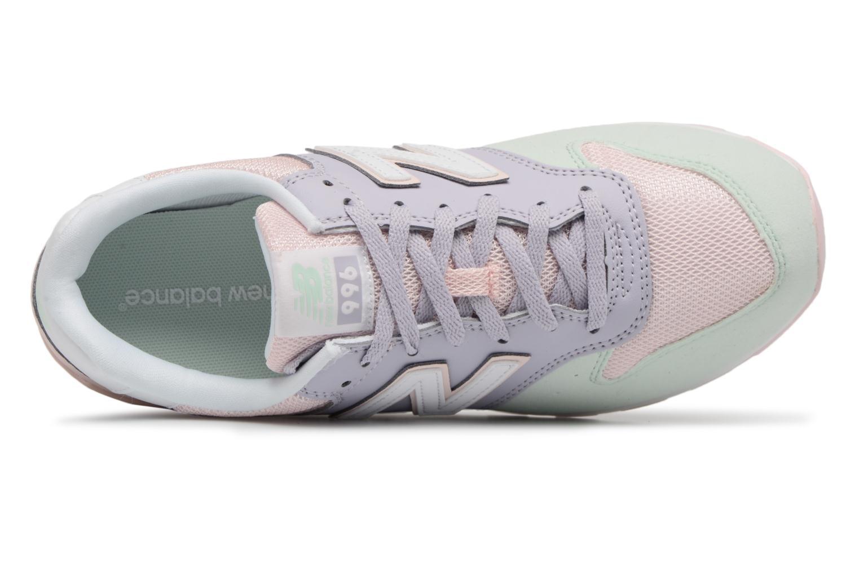 Sneakers New Balance KJ996 J Roze links
