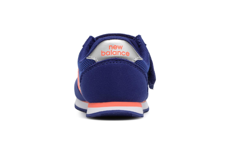 Baskets New Balance KV220 I Bleu vue droite