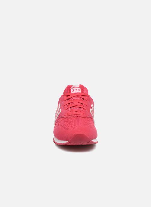 Baskets New Balance KJ373 I Rose vue portées chaussures