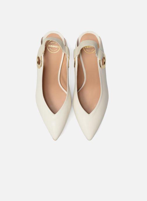 Escarpins Made by SARENZA 90's Girls Gang Escarpins #6 Blanc vue portées chaussures