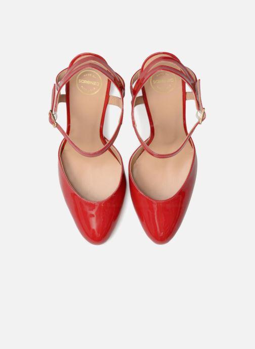 High heels Made by SARENZA Carioca Crew Escarpins #5 Red model view