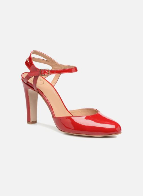 High heels Made by SARENZA Carioca Crew Escarpins #5 Red view from the right