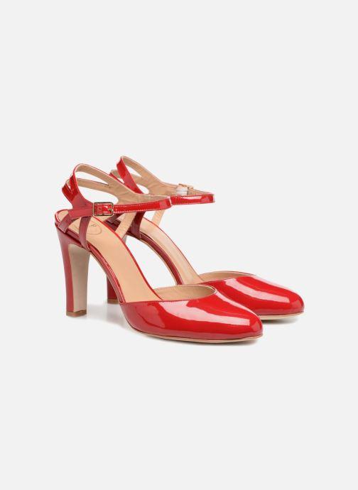 High heels Made by SARENZA Carioca Crew Escarpins #5 Red back view