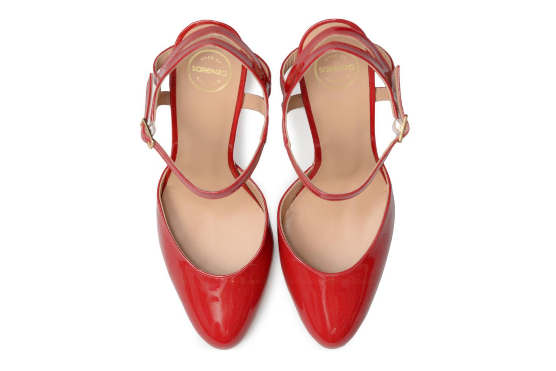 Escarpins Made by SARENZA Carioca Crew Escarpins #5 Rouge vue portées chaussures