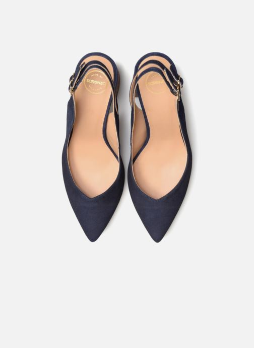 High heels Made by SARENZA Carioca Crew Escarpins #8 Blue model view
