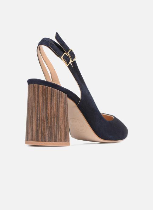 High heels Made by SARENZA Carioca Crew Escarpins #8 Blue front view