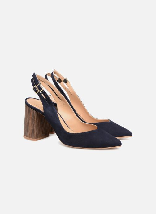 High heels Made by SARENZA Carioca Crew Escarpins #8 Blue back view