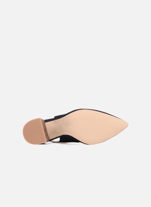 High heels Made by SARENZA Carioca Crew Escarpins #8 Blue view from above