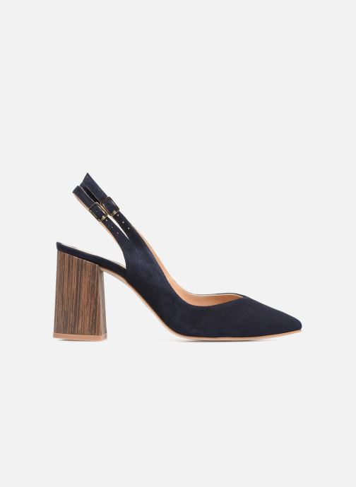 High heels Made by SARENZA Carioca Crew Escarpins #8 Blue detailed view/ Pair view