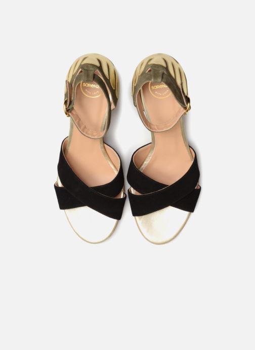 Sandali e scarpe aperte Made by SARENZA Carioca Crew Sandales à Talons #5 Multicolore modello indossato