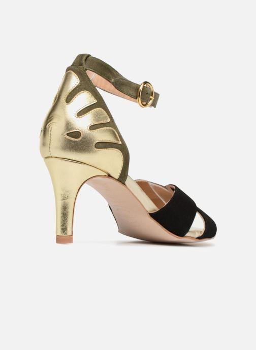 Sandali e scarpe aperte Made by SARENZA Carioca Crew Sandales à Talons #5 Multicolore immagine frontale