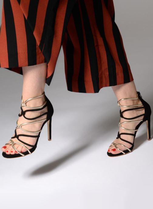 Sandales et nu-pieds Made by SARENZA Carioca Crew Sandales à Talons #8 Noir vue bas / vue portée sac