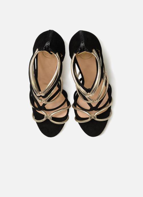 Sandales et nu-pieds Made by SARENZA Carioca Crew Sandales à Talons #8 Noir vue portées chaussures