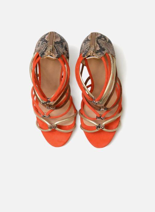 Sandales et nu-pieds Made by SARENZA Carioca Crew Sandales à Talons #8 Multicolore vue portées chaussures