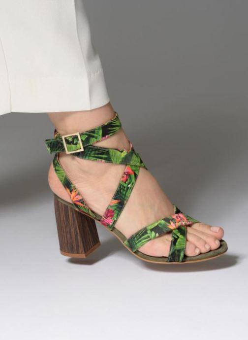 Sandales et nu-pieds Made by SARENZA Carioca Crew Sandales à Talons #9 Multicolore vue bas / vue portée sac