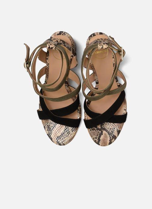 Sandales et nu-pieds Made by SARENZA Carioca Crew Sandales à Talons #9 Multicolore vue portées chaussures