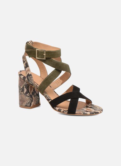 Sandales et nu-pieds Made by SARENZA Carioca Crew Sandales à Talons #9 Multicolore vue droite