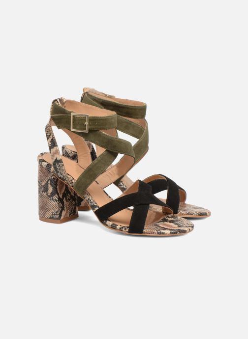 Sandales et nu-pieds Made by SARENZA Carioca Crew Sandales à Talons #9 Multicolore vue derrière