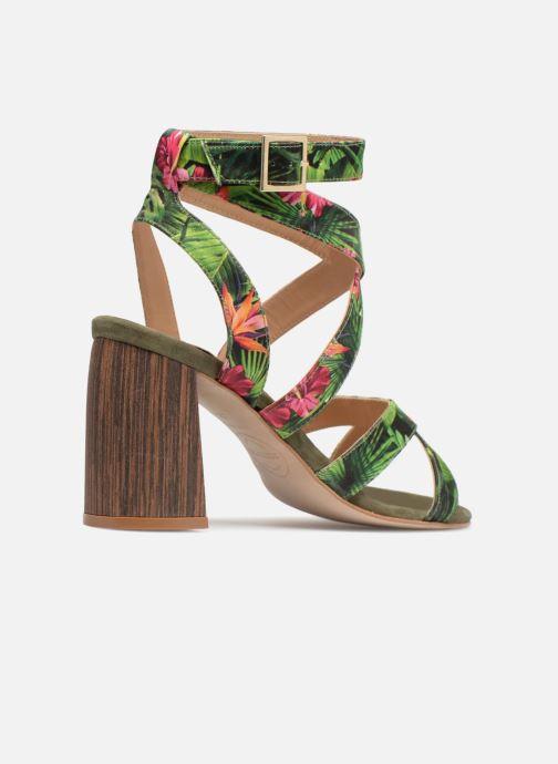 Sandalias Made by SARENZA Carioca Crew Sandales à Talons #9 Verde vista de frente