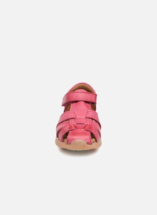Sandales et nu-pieds Bisgaard Mads Rose vue portées chaussures