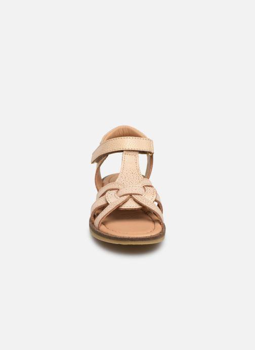 Sandales et nu-pieds Bisgaard Nettie Or et bronze vue portées chaussures