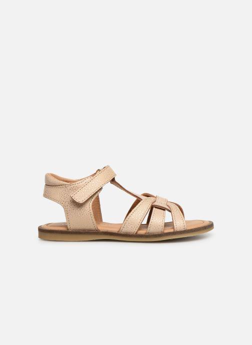 Sandales et nu-pieds Bisgaard Nettie Or et bronze vue derrière
