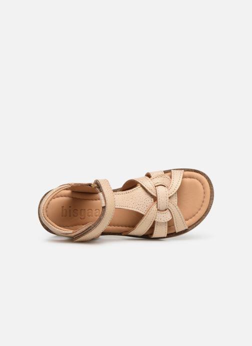 Sandales et nu-pieds Bisgaard Nettie Or et bronze vue gauche