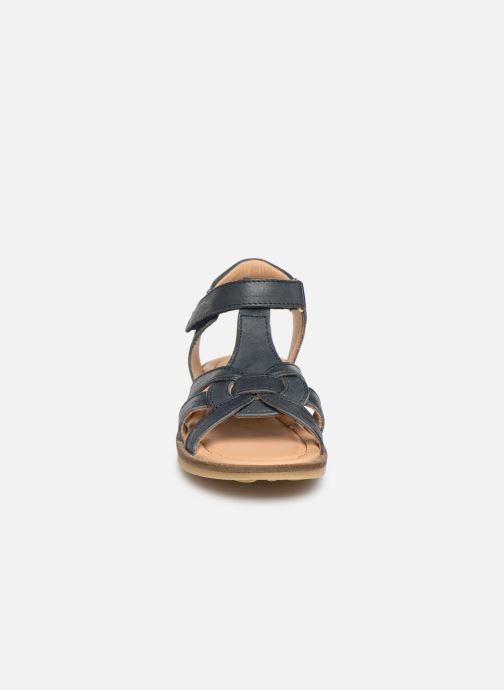 Sandales et nu-pieds Bisgaard Nettie Bleu vue portées chaussures