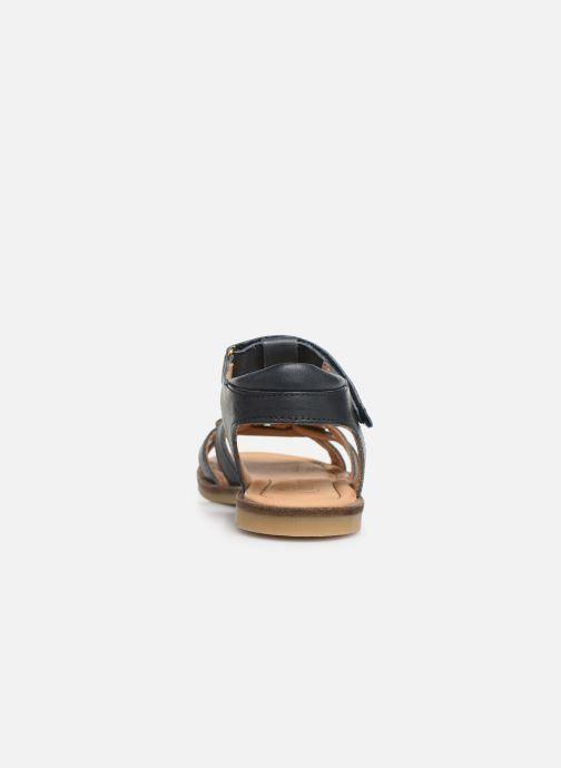 Sandales et nu-pieds Bisgaard Nettie Bleu vue droite