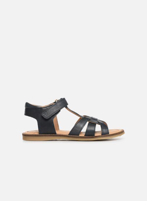 Sandales et nu-pieds Bisgaard Nettie Bleu vue derrière