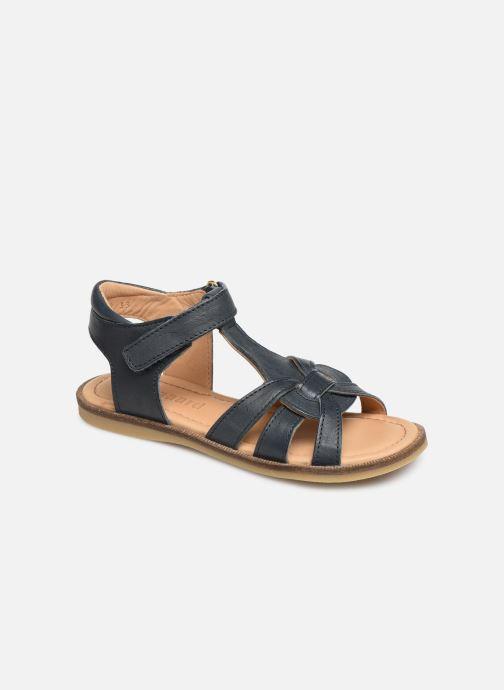 Sandales et nu-pieds Bisgaard Nettie Bleu vue détail/paire